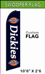 Custom Swooper Advertising Flag - Feather Flag