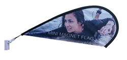 MINI MAGNETIC TEARDROP FLAG KIT (set of 6)