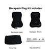 BACKPACK FLAG KIT - HARDWARE ONLY
