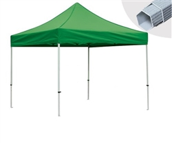 10 X 10 Event Tent w/ Custom Printed Canopy, PLUS extra canopy, wheeled storage bag and ground spikes