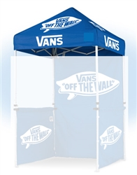 5 X 5 CUSTOM PRINTED CANOPY COVER FOR EVENT TENT FRAME