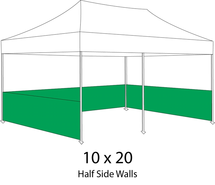 10 X 20 Event Pop Up Tent W Custom Printed Canopy Lowest