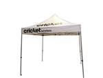 10 X 10 POP-UP EVENT TENT W/ STOCK CANOPY- MOBILE WIRELESS LOGOS