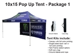10 X 15 POP-UP EVENT TENT - PACKAGE 1