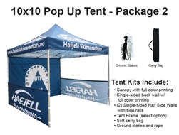 10 X 10 POP-UP EVENT TENT - PACKAGE 2