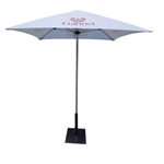 6.56' x 6.56'- CUSTOM PRINTED OUTDOOR RESTAURANT UMBRELLA