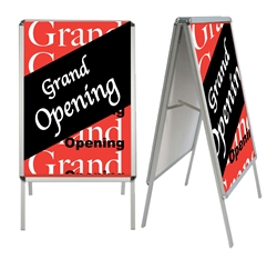 Snap Frame Sandwich Board Sign - 45 in Tall