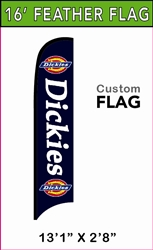 LARGE CUSTOM PRINTING FEATHER FLYING BANNER FLAG