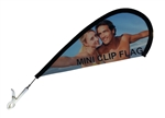 MINI SUCTION CUP TEARDROP FLAG KIT
