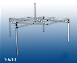 10 X 10 POP-UP STEEL (SQUARE LEG) EVENT TENT FRAME