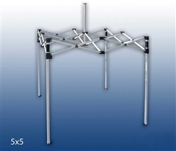 5 X 5 POP-UP STEEL(SQUARE LEG) EVENT TENT FRAME