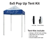 5 X 5 EVENT TENT W/ CUSTOM PRINTED CANOPY