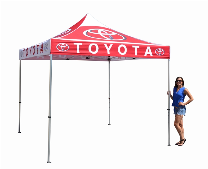10 X 10 POP-UP EVENT TENT W/ STOCK CANOPY- LUXURY AUTO DEALER LOGOS  sc 1 st  Sales Banners u0026 Sales Flags & X 10 POP-UP EVENT TENT W/ STOCK CANOPY- LUXURY AUTO DEALER LOGOS