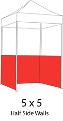 1/2 Side Wall for 5x5 Pop-up Tent