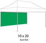 Full Back Wall for 10x20 Pop-up Tent