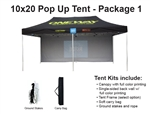 10 X 20 POP-UP EVENT TENT - PACKAGE 1