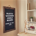 "48""x36"" RUSTIC WOOD CHALKBOARD SIGN"